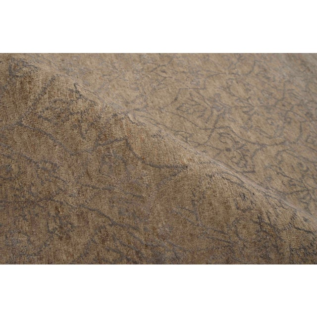Contemporary Stark Studio Rugs Contemporary Oriental Wool and Bamboo Silk Rug - 12' X 15' For Sale - Image 3 of 5