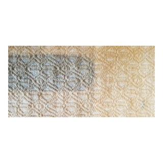 Organic Neautral Embroidered Hill Tribe Wedding Quilt For Sale