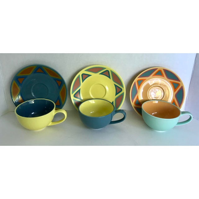 Here is an amazing set of mugs and plates produced by Picasso and made in Germany. These are just about the cutest mugs...