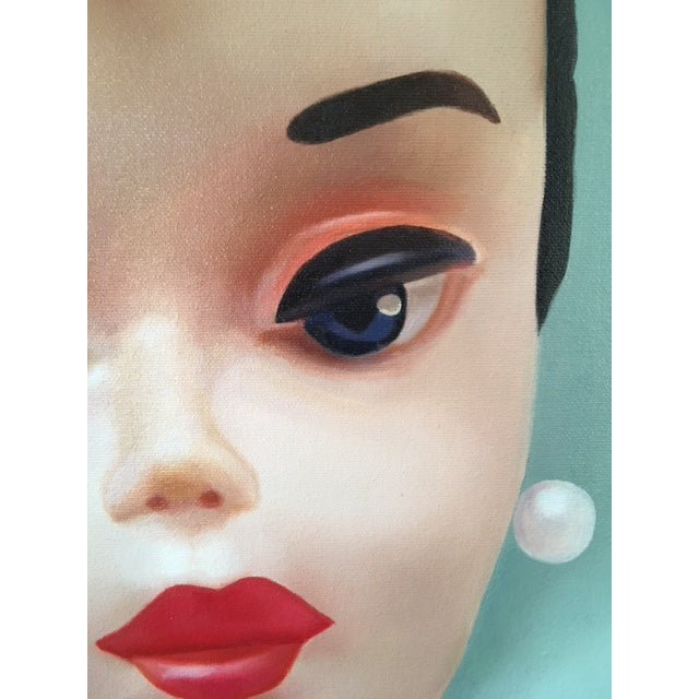 """""""Evening Splendour"""" Barbie Oil Painting For Sale In Los Angeles - Image 6 of 11"""