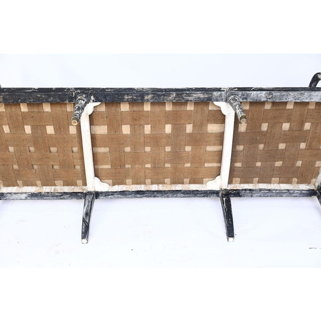 Swedish Cane Back Settee For Sale - Image 11 of 13