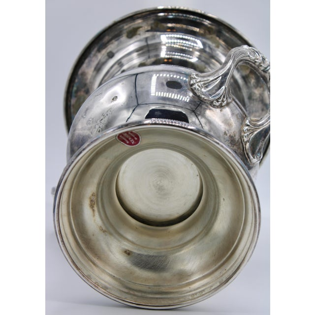 Mid-Century French Silver Plate Champagne Ice Bucket For Sale - Image 12 of 13