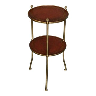 De Wolfe Muffin Table - Brass