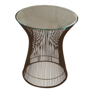 1970s Vintage Warren Platner for Knoll Side Table For Sale
