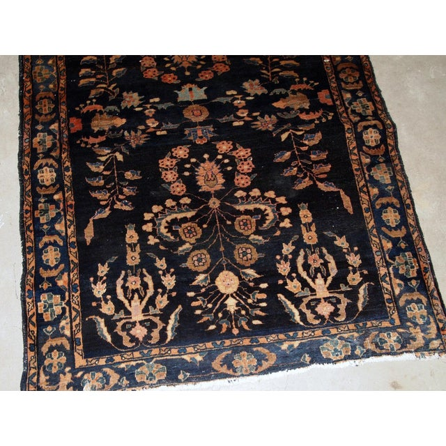 1920s, Handmade Antique Persian Sarouk Rug 3.3' X 5.4' For Sale In New York - Image 6 of 9