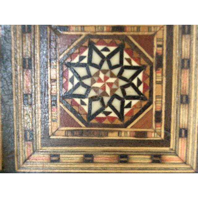 Levantine Syrian Inlay/Parquetry Bench For Sale - Image 11 of 11