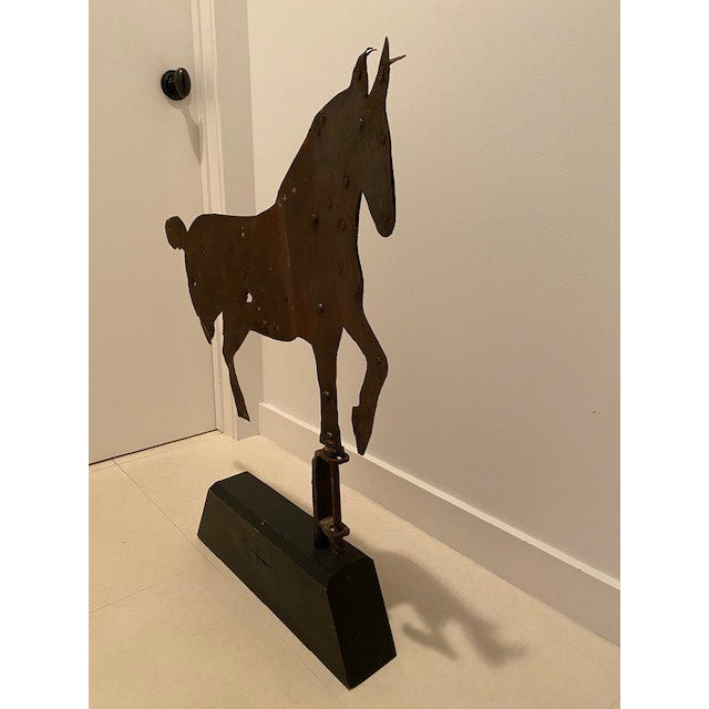 Early 20th Century Antique Horse Weather Vane For Sale - Image 4 of 6
