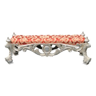 Superb Phyllis Morris Venetian Designer Bench For Sale