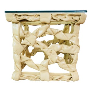 """Ribbon"" Side Table, After Tony Duquette For Sale"