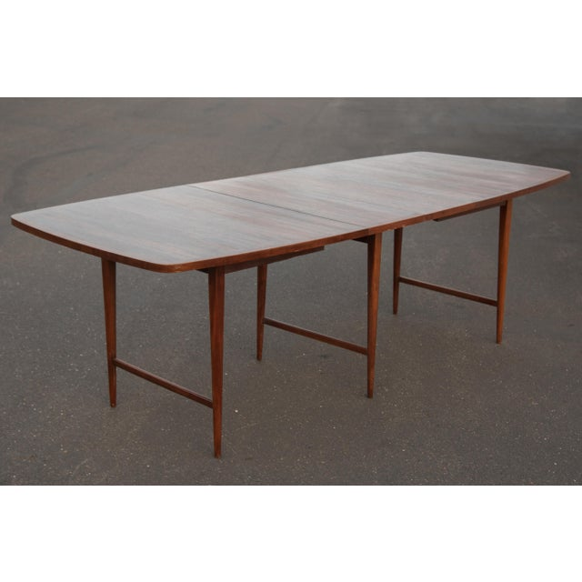 1960s Mid-Century Modern Paul McCobb Rosewood Lane Delineator Series Dining Table For Sale In Philadelphia - Image 6 of 10