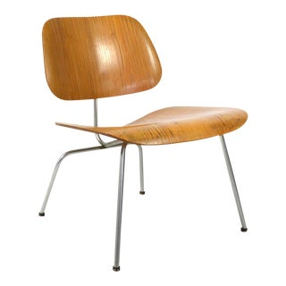 Eames LCM Lounge Chair by Herman Miller with Developmental Mounts For Sale