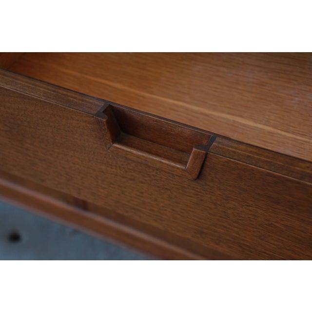 Wood John Stuart Janus Collection 14-Drawer Long Dresser or Credenza For Sale - Image 7 of 10