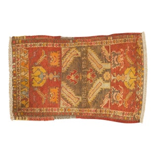 "Small Vintage Turkish Rug - 1'8"" X 2'5"" For Sale"