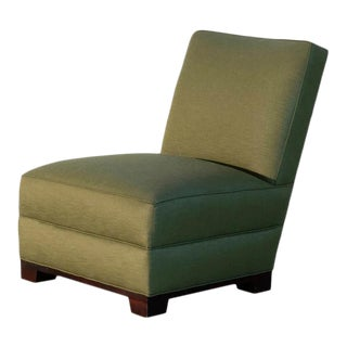 Billy B Upholstered Slipper Chair For Sale