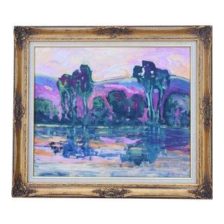 Juan Guzman, Santa Barbara Landscape Seascape Oil Painting For Sale