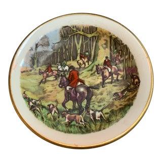 Myott Equestrian Hunt Scene Dish For Sale