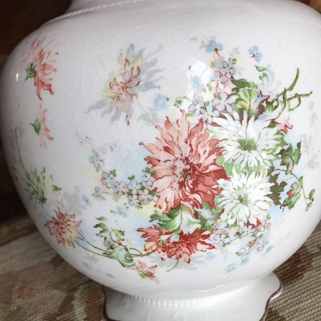 Vintage Flower Vase Pitcher - Image 7 of 10
