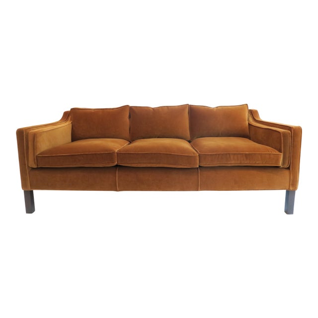 Custom Modern Thin Arm Sofa For Sale