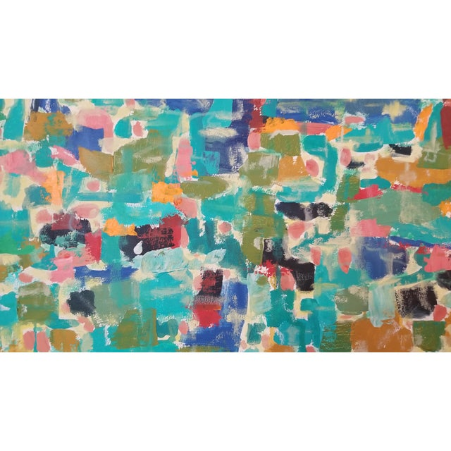 Abstract Expressionist Original Acrylic on Canvas Painting - Image 8 of 13