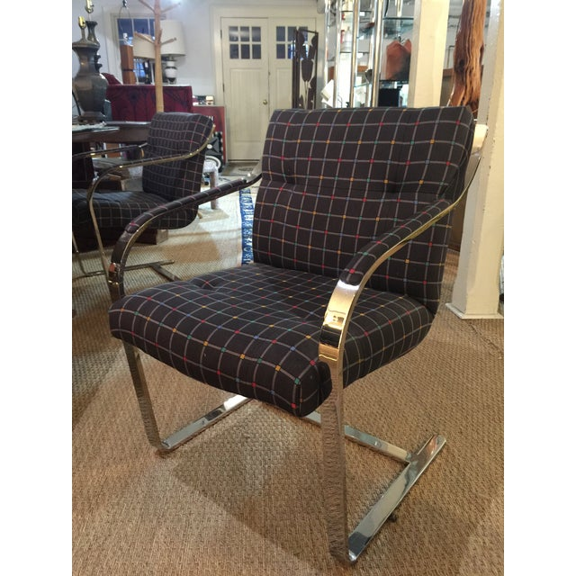 I'm so excited about these chairs. From a home in Boston they are not only super comfy but have very cool fabric. The...