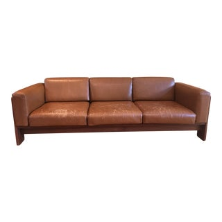 1970s Vintage Tobia Scarpa for Knoll Bastiano 3-Seat Sofa For Sale