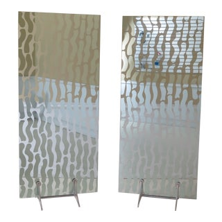 Modern Design Room Dividers or Screens - a Pair For Sale