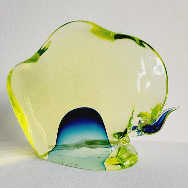 1960s Da Ros for Cenedese Murano Glass Bull For Sale - Image 9 of 9