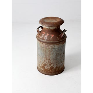 Antique Milk Can Preview