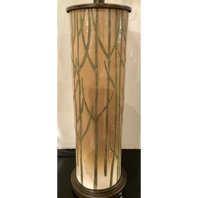Contemporary Currey & Co. Modern Nature Inspired Kellerwald Table Lamp For Sale - Image 3 of 6