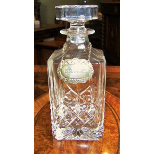 19c Irish Coromandel Wood Campaign Decanter Box With Irish Crystal Decanters For Sale - Image 11 of 12