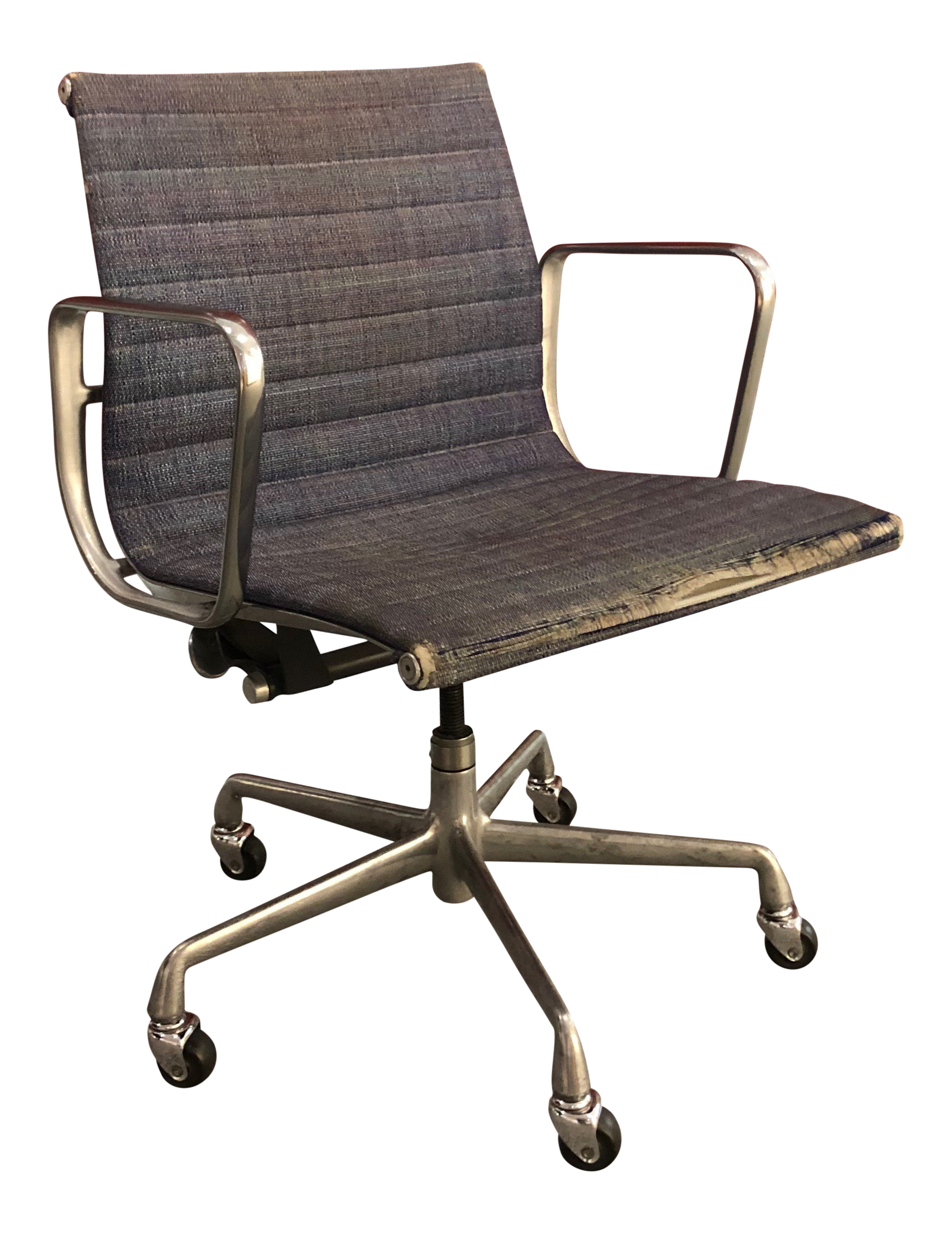 Vintage office chair for sale Mid Century 1960s Vintage Eames Aluminum Management Chair Chairish Vintage Used Office Chairs For Sale Chairish