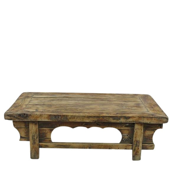 Low Rustic Accent Table For Sale