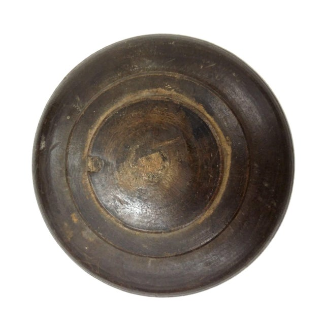 Antique Round Wooden Part For Sale In Boston - Image 6 of 7