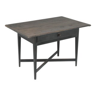 19th Century Folk Art Tavern or Pub Table Desk For Sale