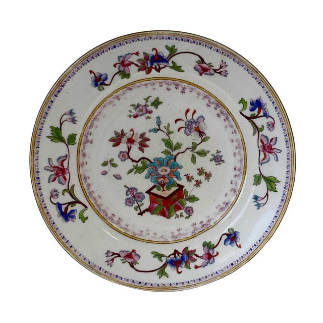 Chinese Antique Chinese Plates - a Pair For Sale - Image 3 of 7