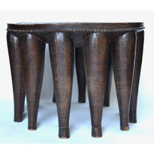 African Antique African Nupe Stool For Sale - Image 3 of 4
