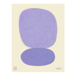 "Lavender over Lavender, 18x24"" Giclee Print."
