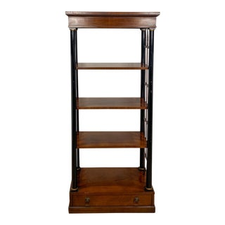French Empire Style Bookshelf For Sale