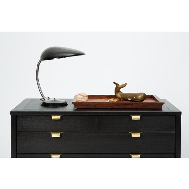 Ebonized Chest of Drawers From Edward Wormley's Precedent Collection for Drexel For Sale - Image 12 of 13