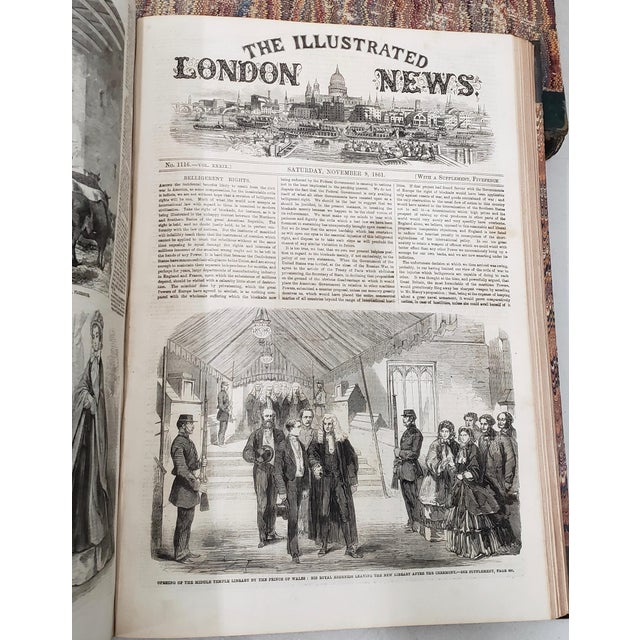 Two Volumes Illustrated London News Books 861 and 1867 - Set of 2 For Sale - Image 4 of 13