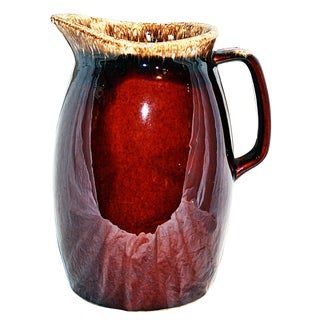 Hull Drip Glaze Pitcher