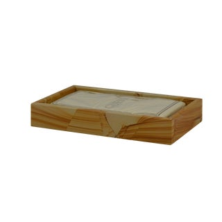 Tan Marble Guest Towel Tray For Sale