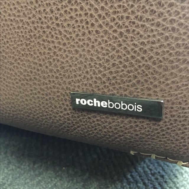 Roche Bobois Urban Leather Loveseat - Image 9 of 10