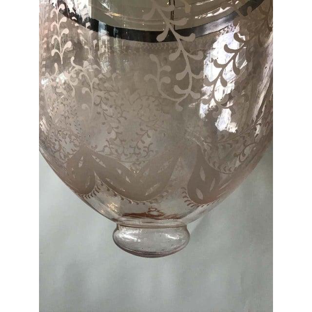 Pink Bell Jar Lantern For Sale - Image 10 of 11