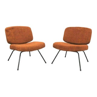 Pierre Paulin CM 190 Low Chairs - a Pair For Sale