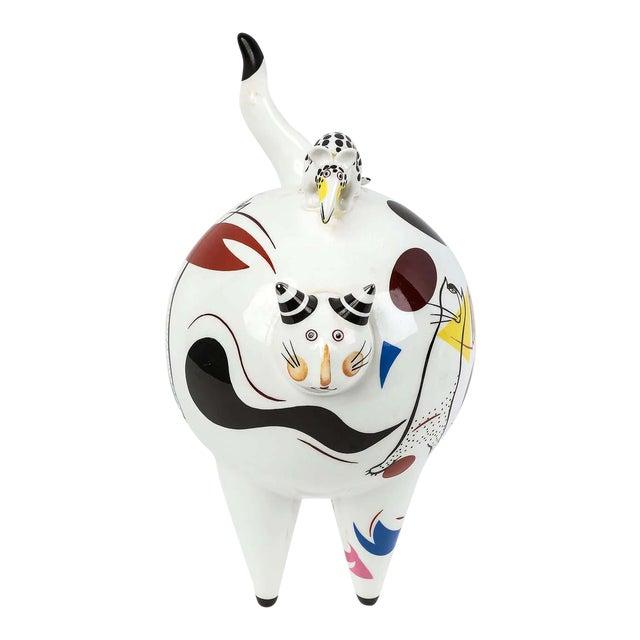 "Villeroy & Boch ""Fat Cat"" Figurine For Sale"