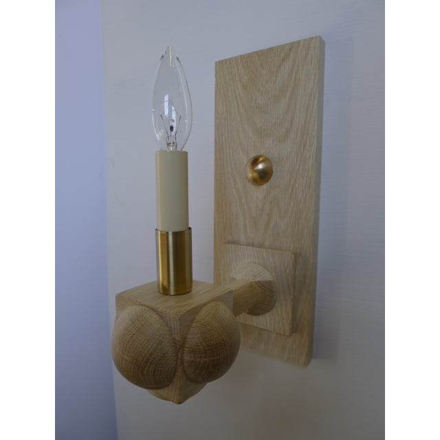 Paul Marra Foursquare Sconce by Paul Marra For Sale - Image 4 of 11