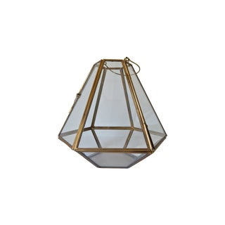 Glass Triangular Terrarium