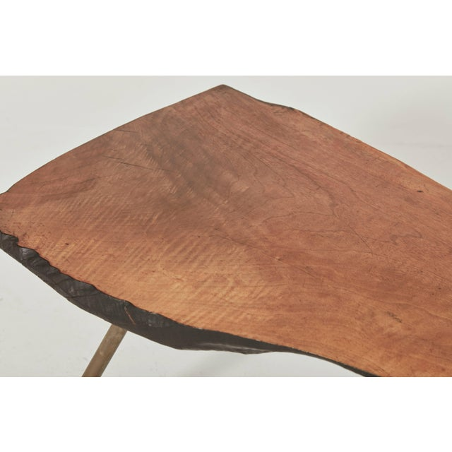 Carl Auböck Large Midcentury Tree Trunk Table, Austria, 1950s For Sale - Image 4 of 8