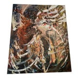 Image of Large Abstract Expressionist Painting For Sale